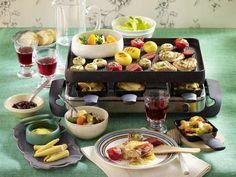 Raclette - gemütliche Pfännchen-Schlemmerei