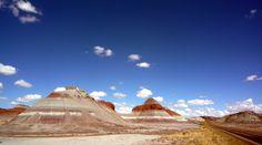 Este desierto de Arizona parece estar pintado