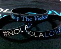 Fleurty Girl #NOLALOVE Bracelet, part of proceeds go to keep after school programs!!!