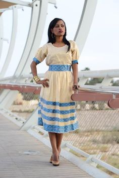 Want to buy women traditional dresses online? We have a huge collection of Ethiopian traditional dresses with stylish looks at affordable prices. Ethiopian Traditional Dress, Traditional Dresses, African Dresses For Women, African Women, Ethiopian People, Ethiopian Dress, Dresser, Church Attire, Handmade Dresses