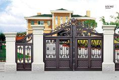 HY-902 unique exterior House Gate Designs