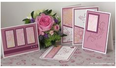 set of one sheet wonder cards by Karin ... luv her color pallet here .. Stampin' Up!