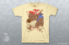 """Bear & Bird"" Unisex Banjo Kazooie t-shirt"