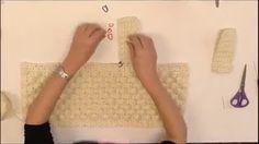 tutorial πως πλέκουμε πορτοφολάκι - YouTube