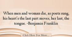 Benjamin Franklin Quotes About Men - 45399