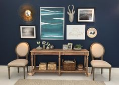 TODAY Show contributor and Washington Post columnist Elizabeth Mayhew shows you how to curate and create a gallery wall with a mix of framed art, wall decor, sculptures, and more! www.worldmarket.com #WorldMarket #FallHomeRefresh