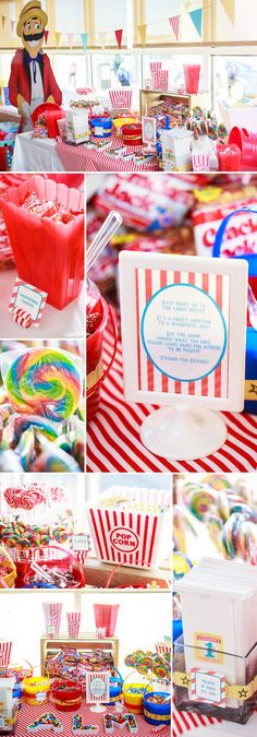 Carnival Themed Birthday Party...or it would be good for a girls night gift....