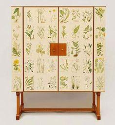 'flora' mahogany cabinet / josef frank.