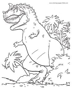 angry dinosaur in the jungle color page animal coloring pages coloring pages for kids thousands of free printable coloring pages for kids