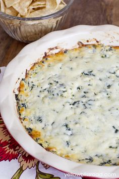 Spinach Artichoke Dip – Olive Garden Copycat... So Good!