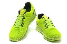 Air Max Shoes Mens New Material 2013 Green