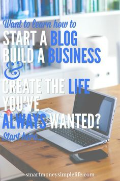 Want to learn how to start your own blog or website so you can build a business and create the life you've always wanted? Start now with this easy, step by step guide. #HowToStartYourOwnBlog #HowToStartYourOwnWebsite