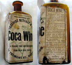 Vintage Advertisements for Cocaine Wine