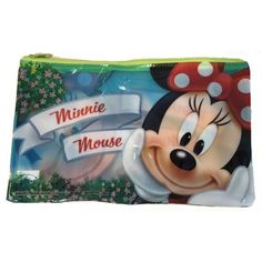 Etui Minnie Mouse 25 cm. Etui met een afbeelding van Disneys Minnie Mouse. De Minnie etui is ongeveer 25 x 15 cm groot.
