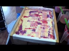 Making & Cutting Forever Red Soap - YouTube