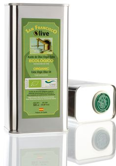 #organic #oliveoil from #Spain 500ml can  Gold Medal #ecotrama Top 25 best ofo #biopress