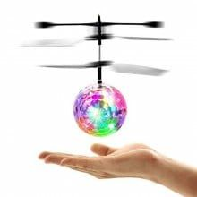 Hot sale RC Toy EpochAir RC Flying Ball Drone Helicopter Ball Built-in Shinning LED Lighting for Kids Teenagers Colorful