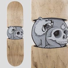 Interesting concept. DIG IT ///// Jeremy Fish #skateboard #skate #deck