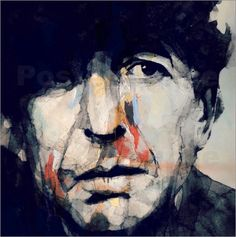 Paul Paul Lovering Arts - Leonard Cohen Hey That's No Way To Say Goodbye