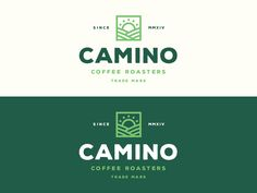 2 designed by Ryan Prudhomme. Connect with them on Dribbble; Coffee Shop Logo, Coffee Branding, Logo Branding, Branding Design, Badge Design, Logo Design Template, Logo Sketches, Logo Desing, Logos