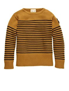 Haversack Striped Naval Sweater by UNIONMADE