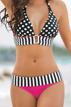 very nice fitting bathing suit. like that its not strings... Love it!! Getting the summer bod to wear )