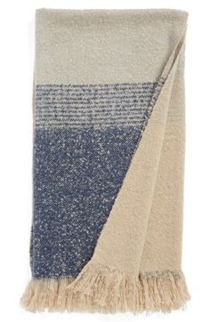 Nordstrom at Home Ombré Stripe Throw available at #Nordstrom
