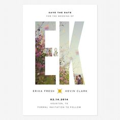 Too bad it's not K for Kurtis :) Already ordered my Save the Dates but these are pretty :)