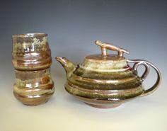 Kichirou Tea Set, handmade ceramics