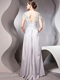 Nice A-line Strapless Ruffles Short Floor-Length Taffeta Dress
