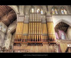 The Organ Pipes at St Saviour's Cathedral, Goulburn.