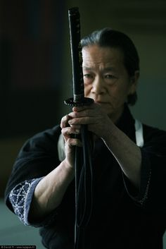 Photo Sword Master in Shikoku, by my friend David Michaud, master photographer of Japanese themes. http://lejapon.fr/