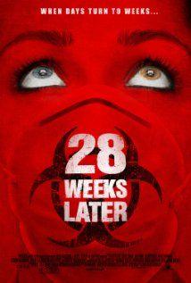 28 semanas después (2007) Poster