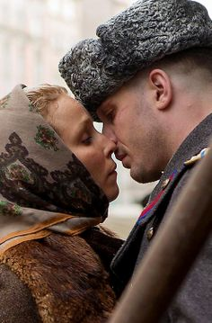 A Tom Hardy kiss would be a death blow to me. *sigh* look at that face as he goes in for that kiss. <3