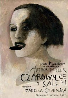 The Crucible, Polish Theater Poster