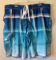 Arizona Big Mens Swimming Trunks Shorts Size 2XL Polyester New With Tags #Arizona #BoardShorts