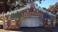 Austin Trail of LIghts Candyland | Ryan Day Studios
