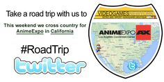 ROAD TRIP! This weekend we cross country to setup shop in Los Angeles, California for AnimeExpo!  Hop over to our Twitter Account (VideogamesNYC) to take a look!