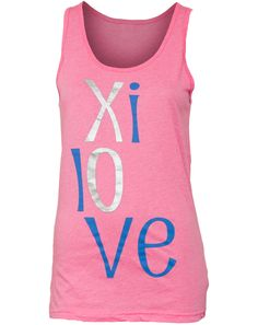 "Says ""So Sweet to be an Alpha Xi"" on the back."