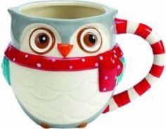 Mug Snowy Owl