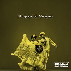 Al ritmo del arpa, pandero y la música de jarana se acostumbra en Veracruz a bailar el Zapateado o Son Jarocho.