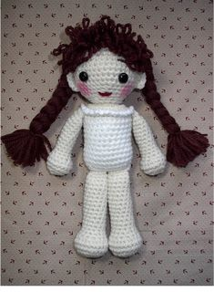 Follow these step by step instructions to create a Basic Crochet Doll