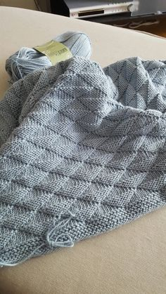 stricken Interessantes Muster, # Interessantes # Muster # Strickmuster Choosing And Buying Inexpensi Baby Knitting Patterns, Knitting Stitches, Baby Patterns, Free Knitting, Crochet Patterns, Knitted Afghans, Knitted Baby Blankets, Wool Blanket, Easy Knit Blanket