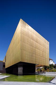 Platform of Arts and Creativity, Guimarães, Portugal  by Pitagoras Arquitectos
