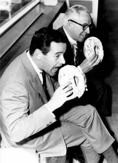 Little known fact that Jack Lemon's father actually invented the Cheerio. Unfortunately, it didnt take off until The Japanese miniaturized it in the early '60s.     -- Jack Lemmon with his father John.