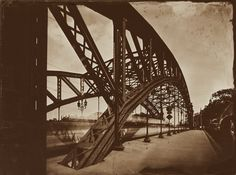 Photography, Large format in Construction, Edifice, Bridge, Large Format 18x24, Mentor Panorama, wet plate collodion, Ambrotype - Image #588652