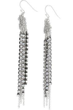 Chic chain earrings
