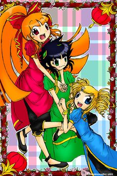 Finally, it's doone! This one's for Chines. PPG-Z CNY 2011 Power Puff Girls Z, Anime Rules, Ppg And Rrb, Arte Pop, Cartoon Network, Bowser, Deviantart, Comics, Artwork