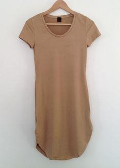 bonnie suede side slit dress dress