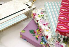 Chic Gift Wrap Dispenser with 4 Rolls of Anna's Everyday Paper (dispenser 2016, everyday paper 2017)